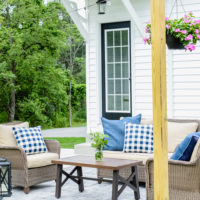 Backyard Patio Makeover | oldsaltfarm.com