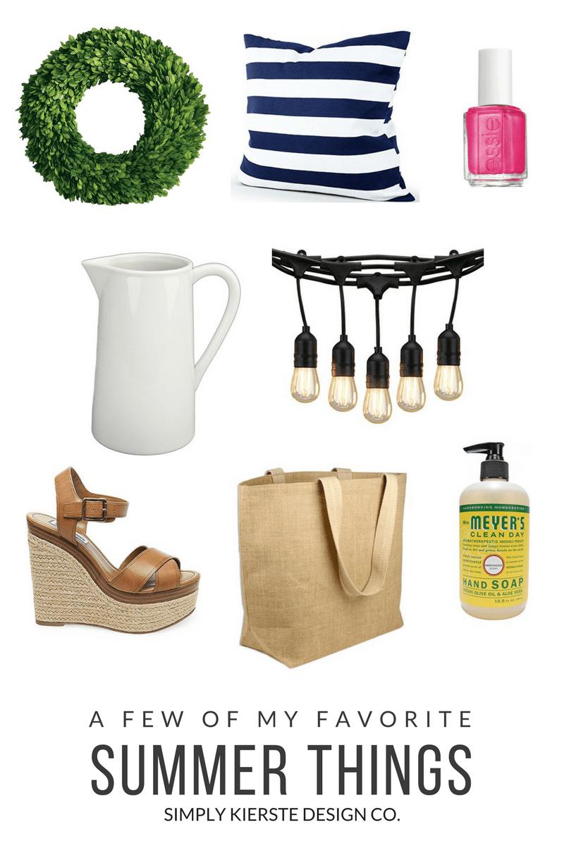 A Few of My Favorite Summer Things | oldsaltfarm.com