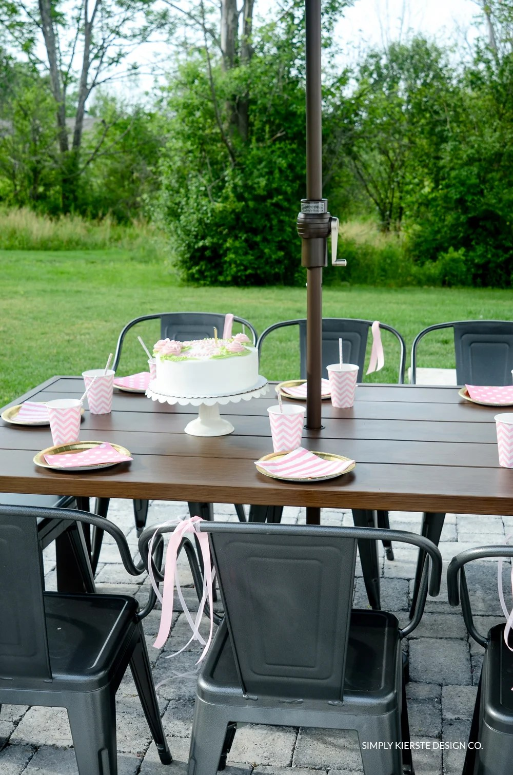 Outdoor Tween Girl Party for under $100 | oldsaltfarm.com