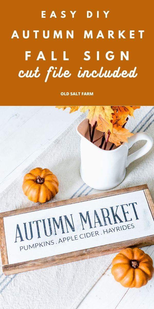 Autumn Market Fall Sign