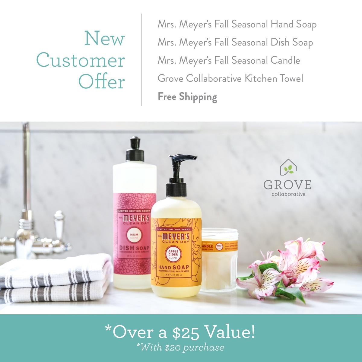 FREE Mrs. Meyer's Fall Scents | oldsaltfarm.com