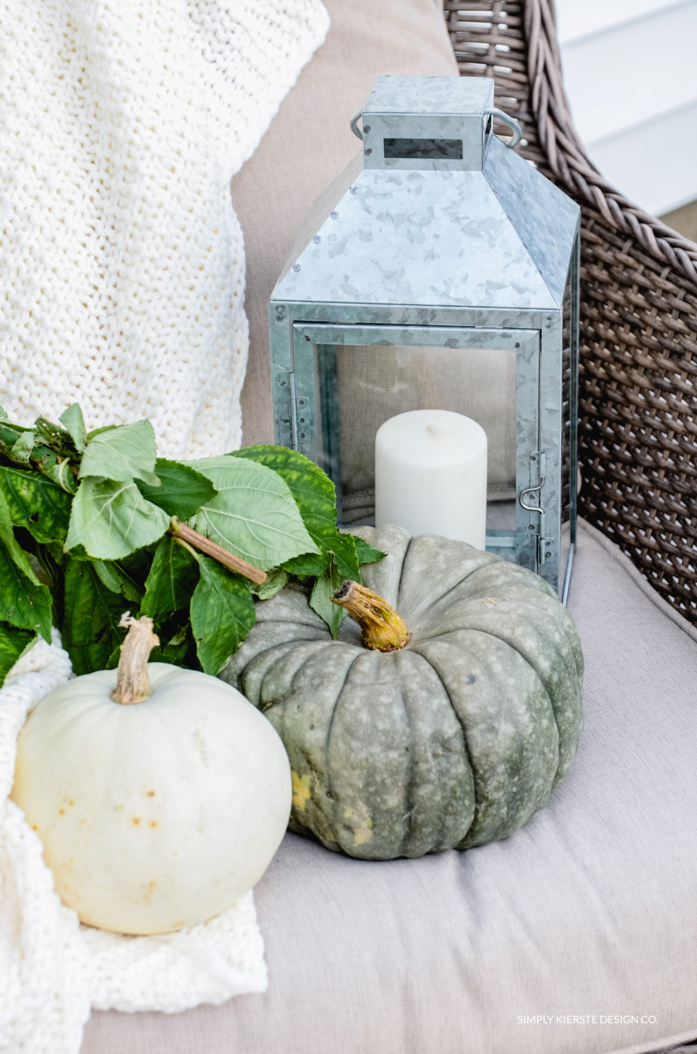 Simple Fall Porch | Better Homes & Gardens | Easy Fall Porch Ideas | oldsaltfarm.com