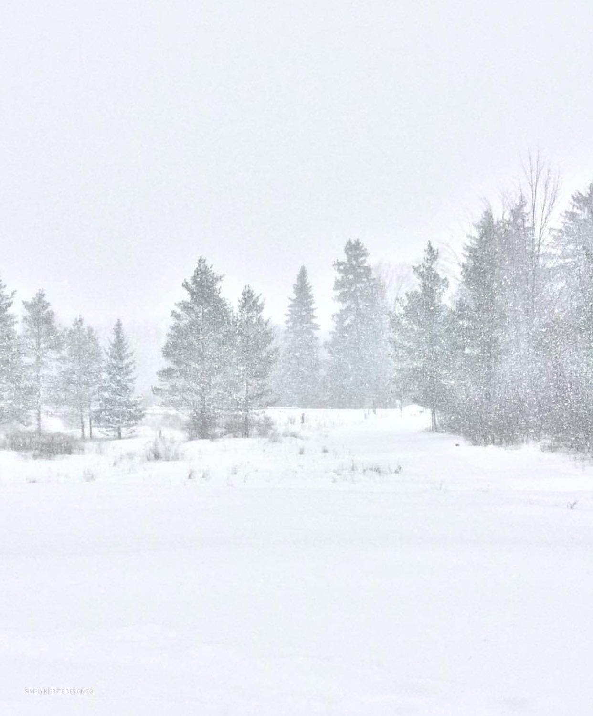 Winter at Old Salt Farm | Winter Home Tour | oldsaltfarm.com