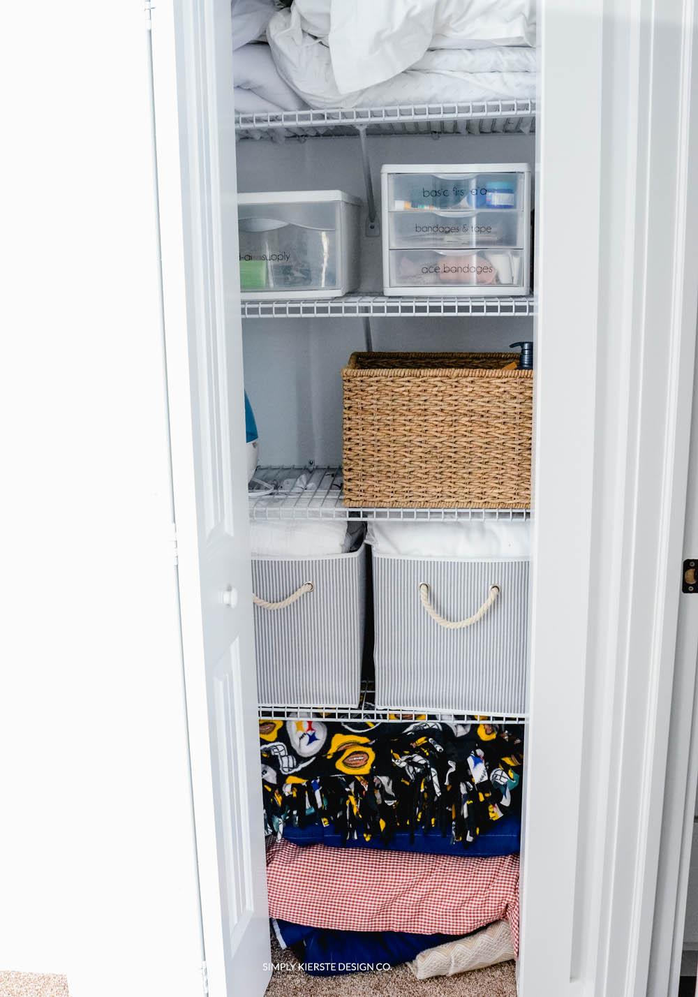 Linen Closet Makeover Pretty Practical Organization