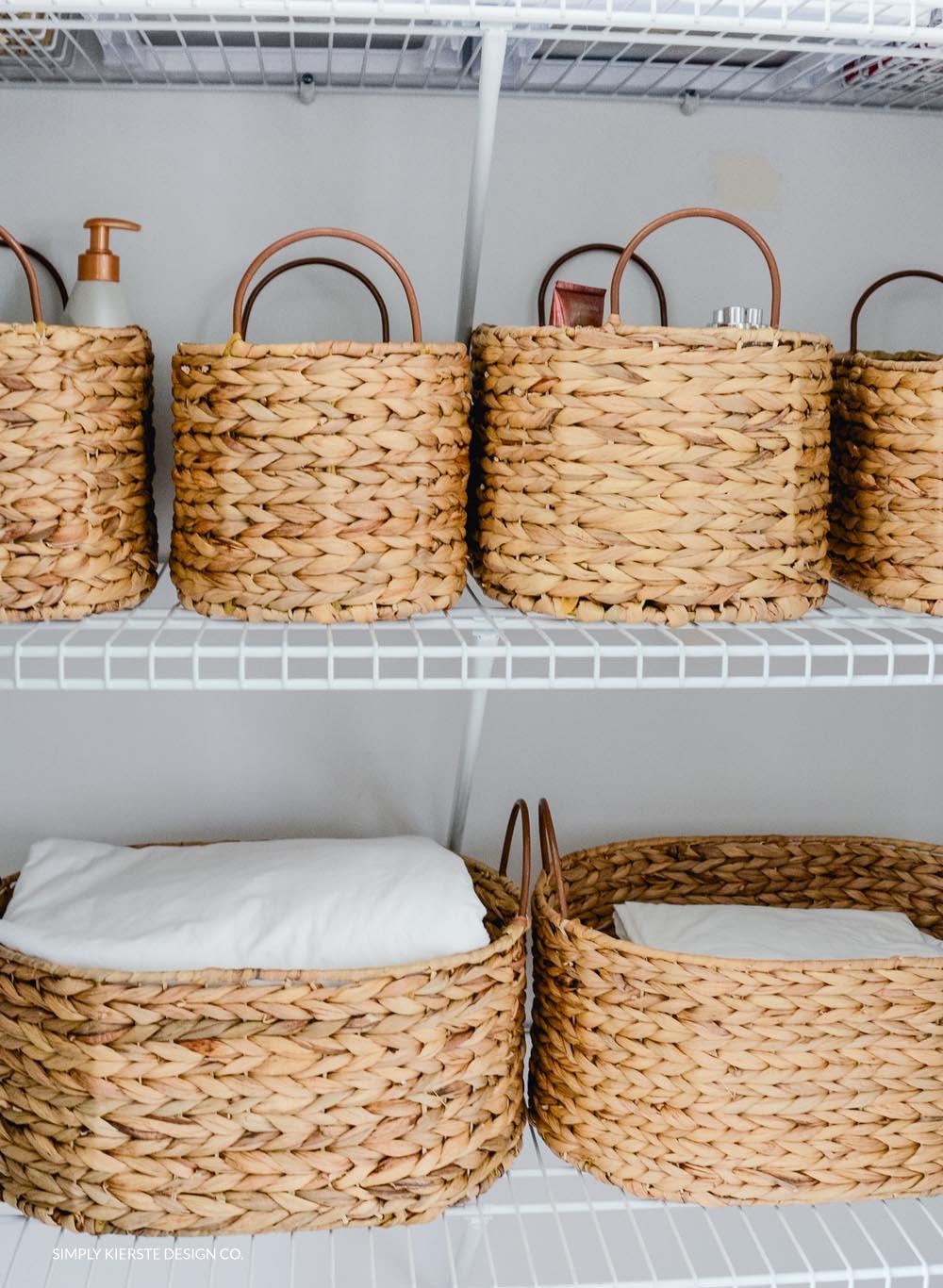 Linen Closet Makeover Organization | How to Organize Your Linen Closet