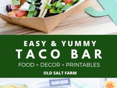 Taco Bar Party Ideas