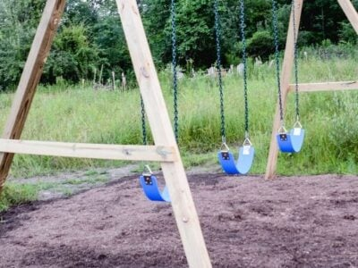 How to Build a Wooden Swingset