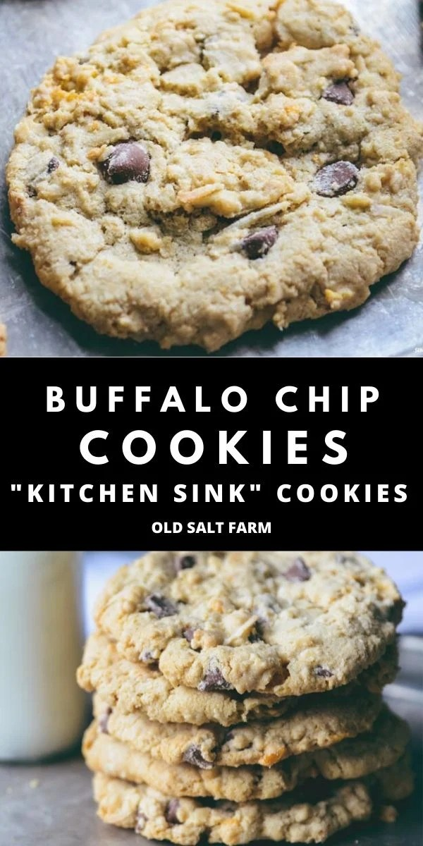 Buffalo Chip Cookies | Kitchen Sink Cookies
