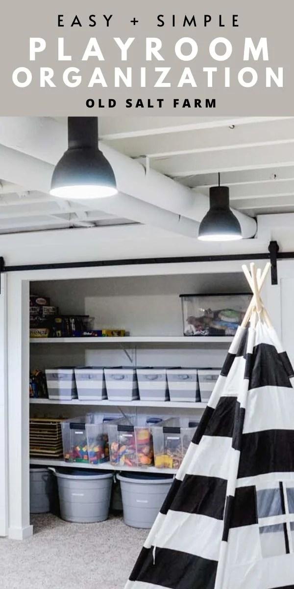 Playroom Organization | Toy Storage Ideas
