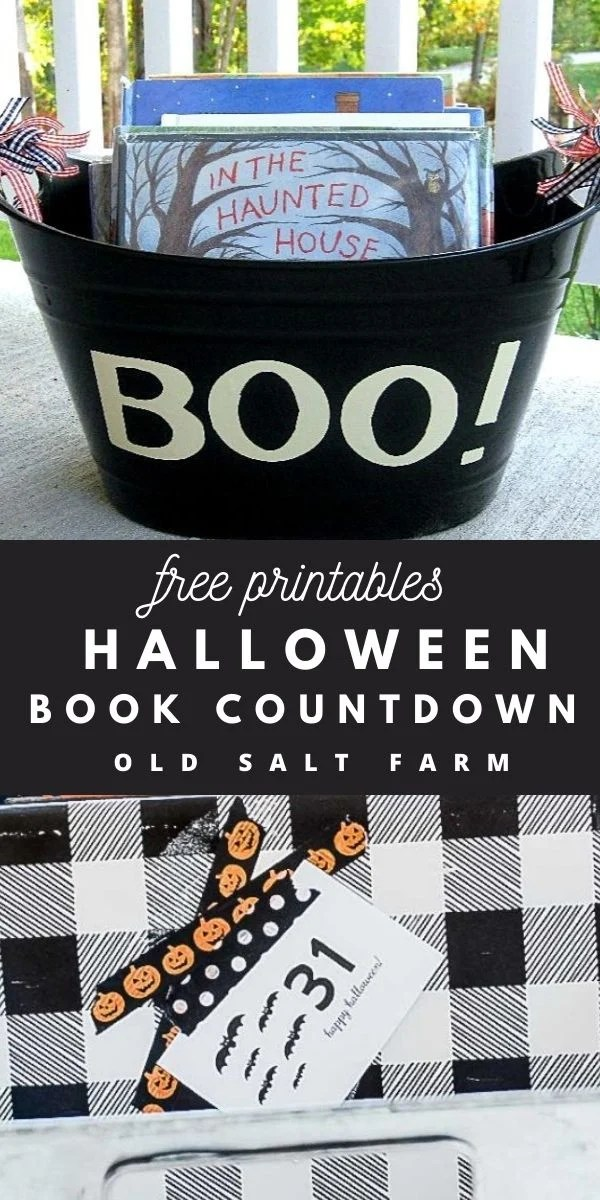 Halloween Books Countdown