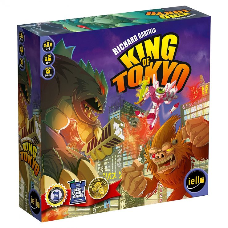 King of Tokyo | Best Family Board Games