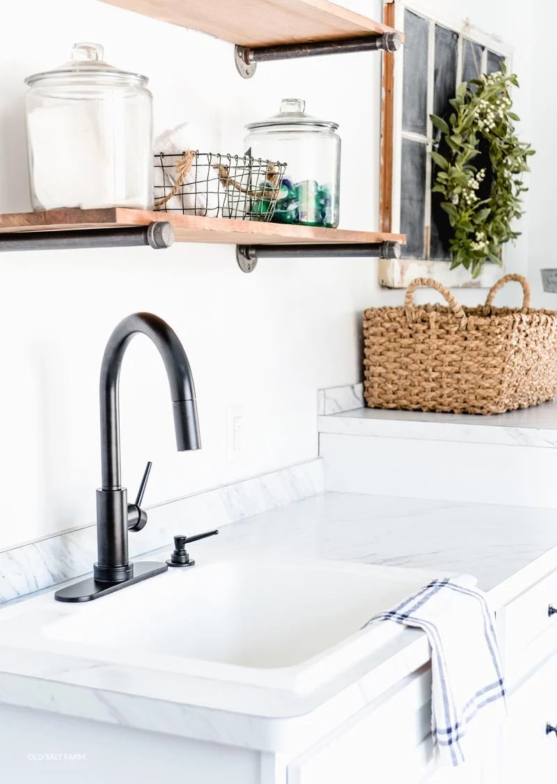 Why I Love My Laundry Room Faucet Old Salt Farm