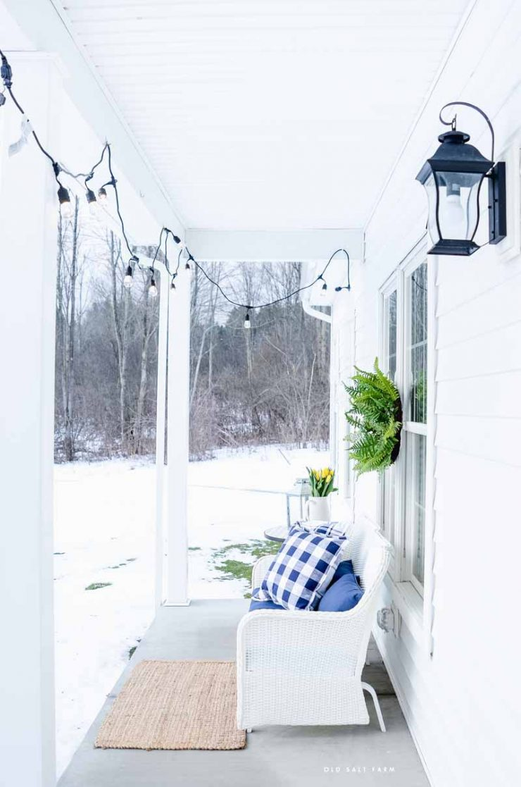 Farmhouse Spring Porch | Better Homes and Gardens