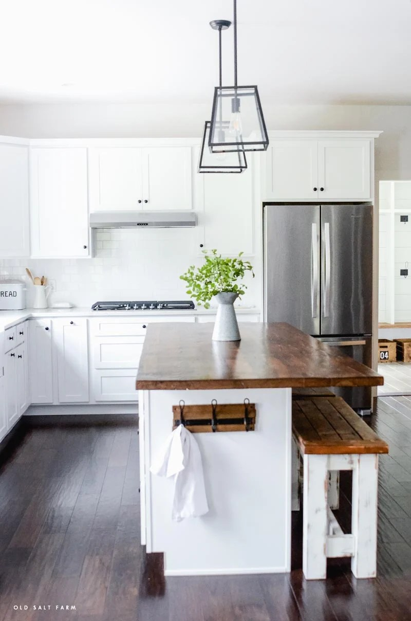 Picture of: Diy Barn Wood Kitchen Island Reclaimed Wood Projects Old Salt Farm