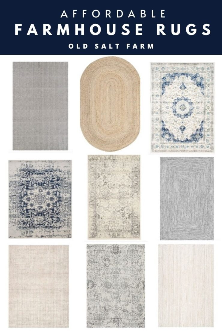 Affordable Farmhouse Rugs
