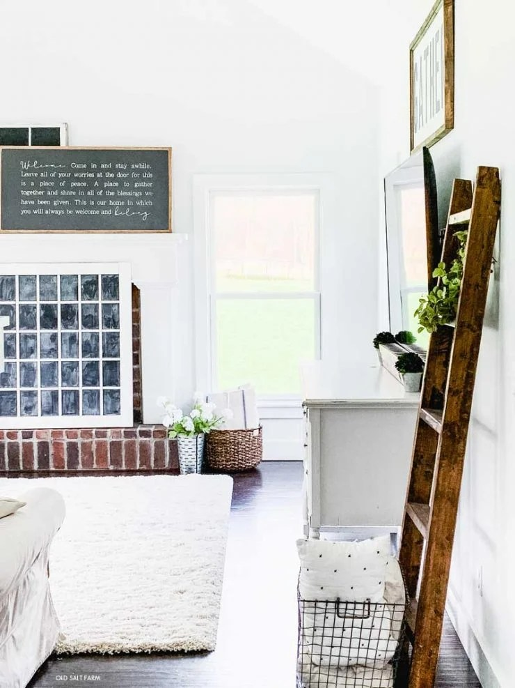 Cozy Family Room Rug Farmhouse