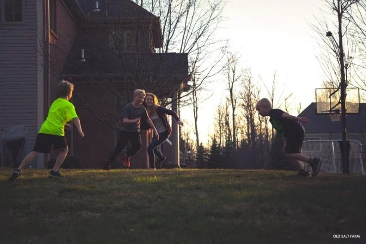 Outdoor Night Games Family Fun