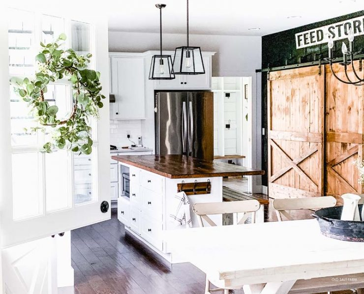 Farmhouse Kitchen Dutch Door