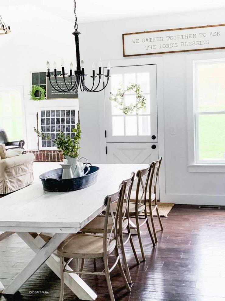 Farmhouse Table Dutch Door