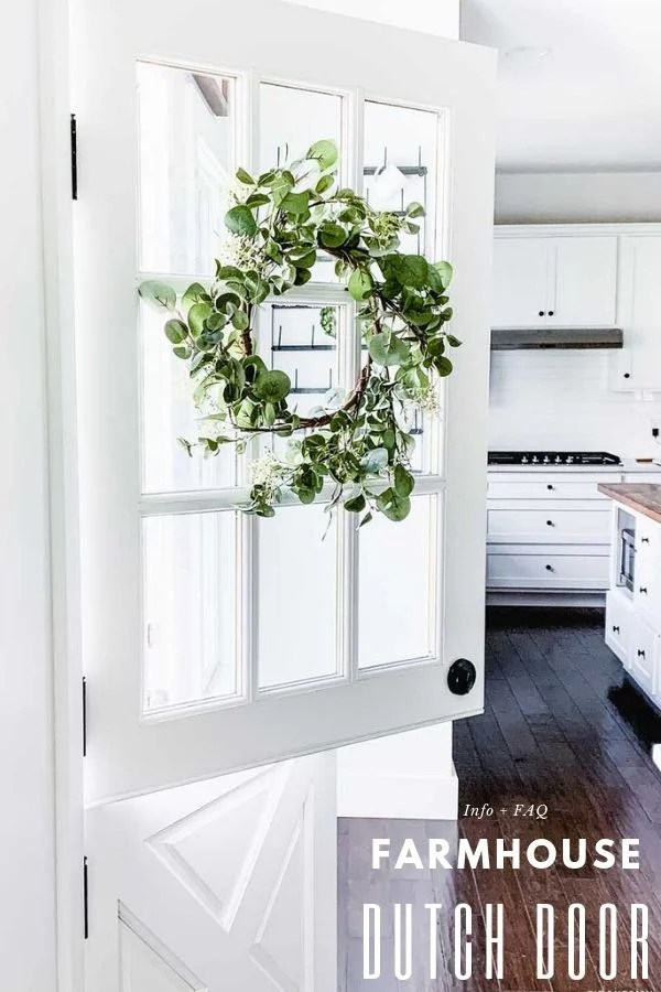 Farmhouse Dutch Door