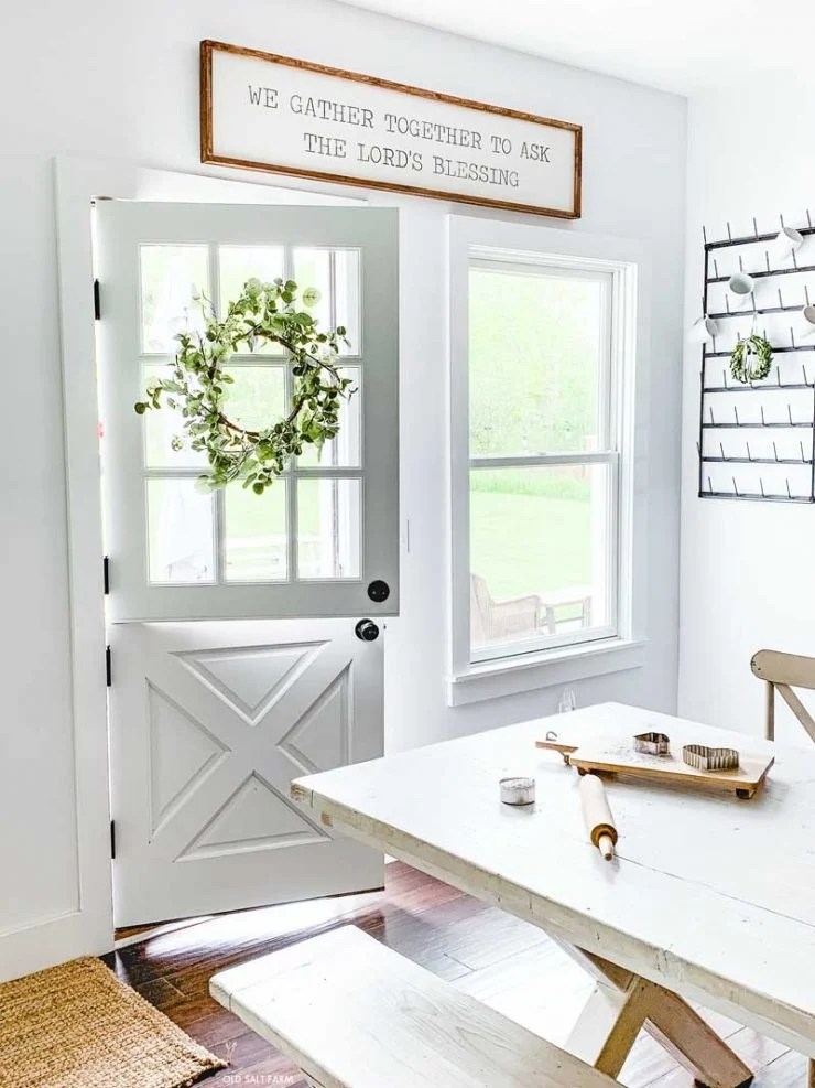 Farmhouse Signs Dutch Door
