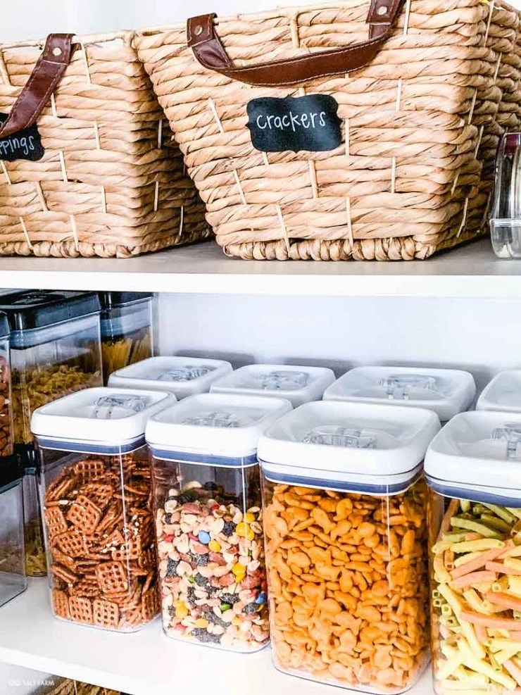 Kitchen Pantry Organizers Baskets