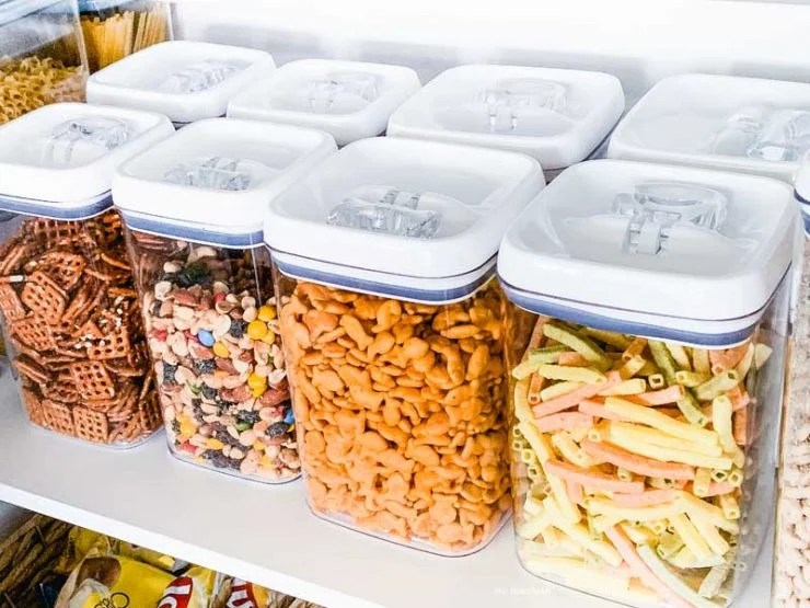Clear Kitchen Storage Containers