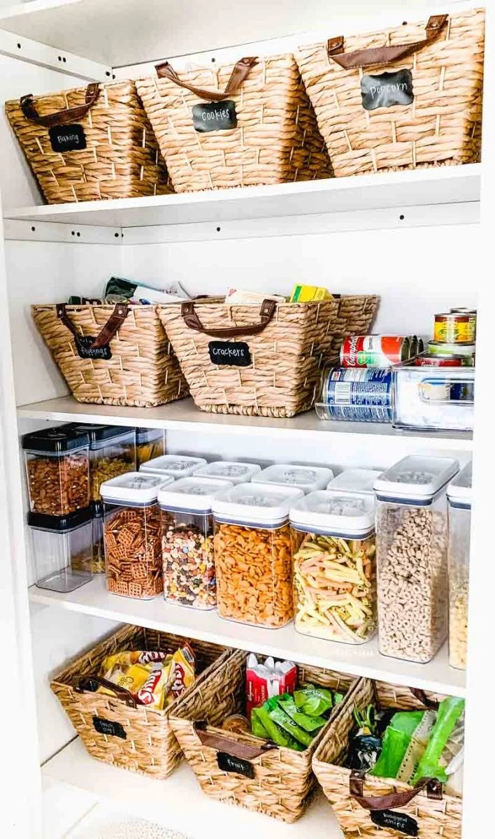 Pantry Storage Baskets