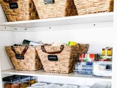 Kitchen Pantry Organization Storage ideas
