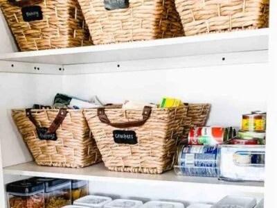 Kitchen Pantry Organization Storage ideas