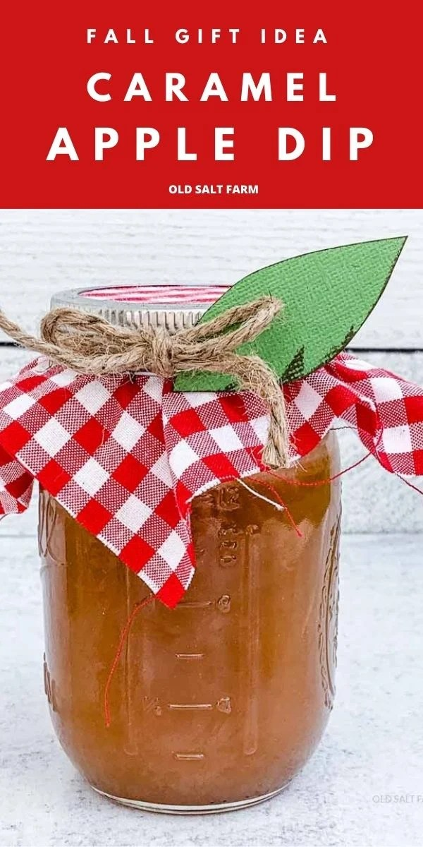 Caramel Apple Dip + Gift Idea