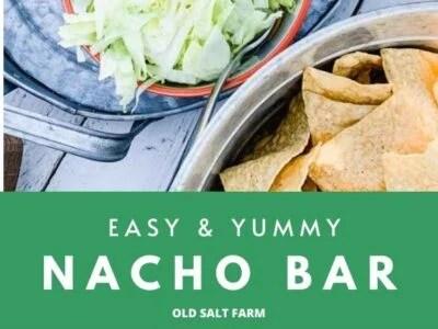 Easy & Yummy Nacho Bar