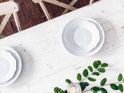 Simple Farmhouse Summer Table