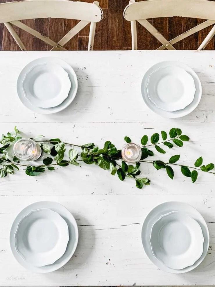 Farmhouse Summer Table