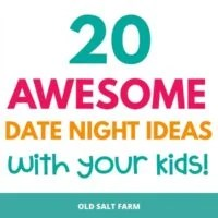 20 Awesome Date Night Ideas With Your Kids