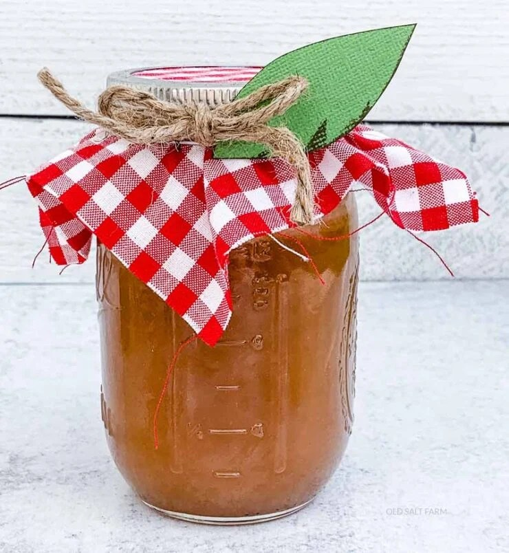 Caramel Apple Dip Teacher Gift