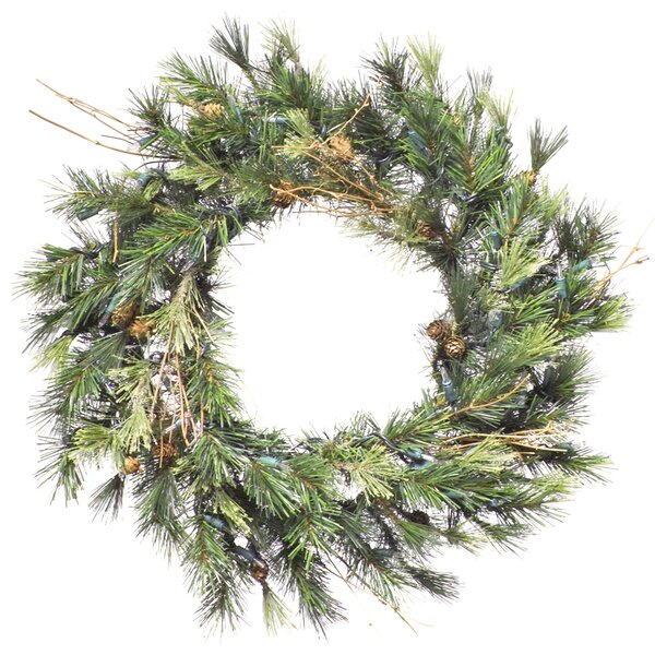 Mixed Pine Christmas Wreath