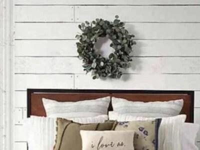 Farmhouse White Bedding Ideas