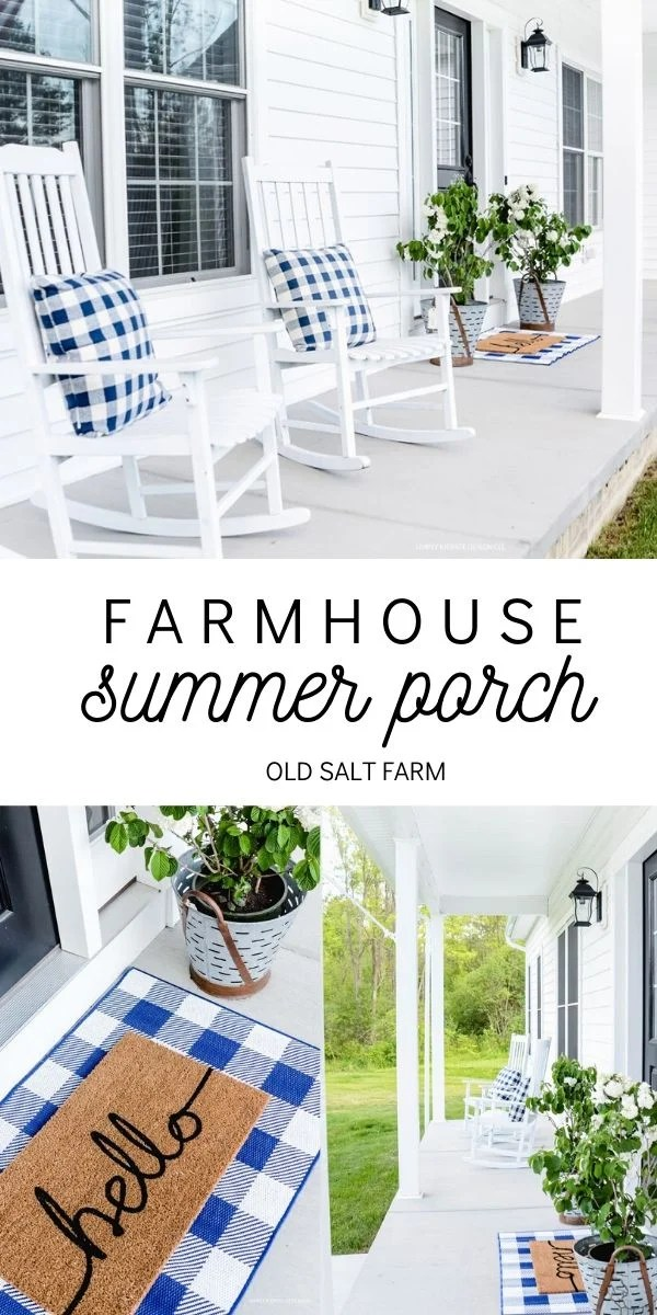 Farmhouse Summer Porch Ideas