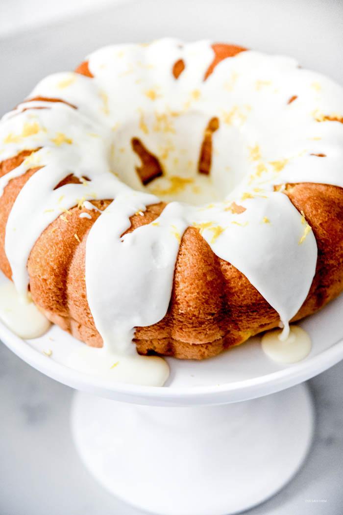 Easy Lemon Bundt Cake Recipe Old Salt Farm