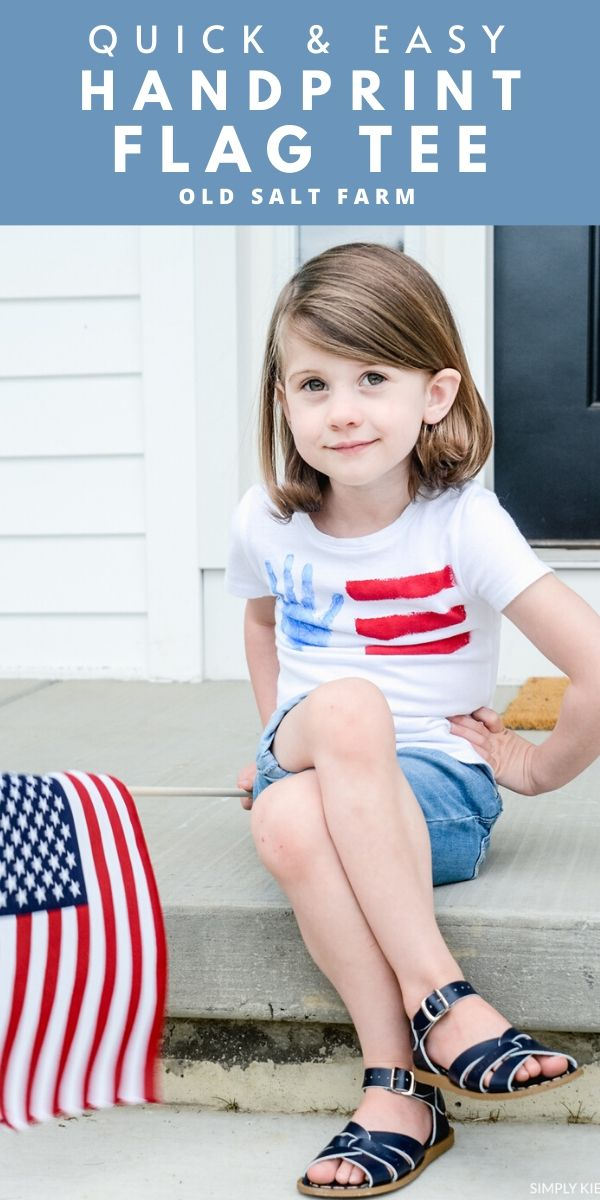 DIY-Handprint-Flag-Tee