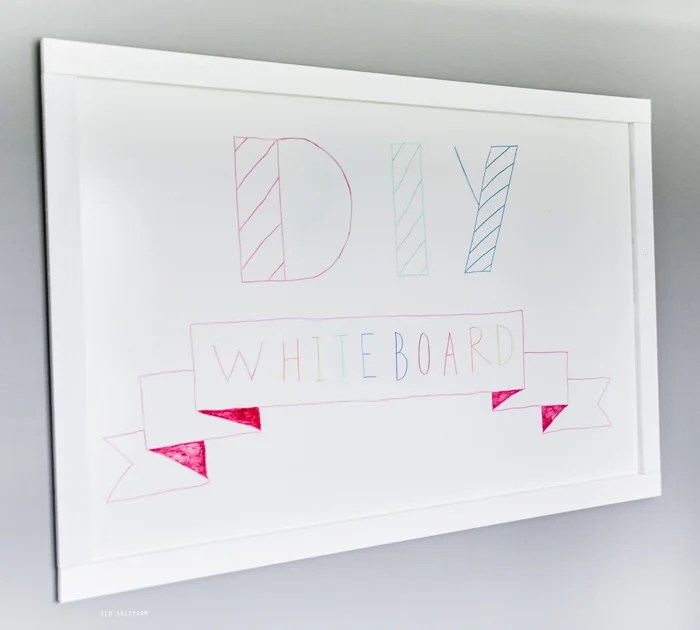 Easy DIY Whiteboard