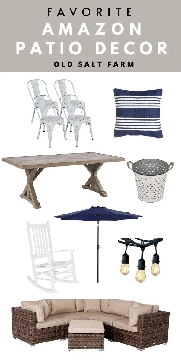 Favorite Amazon Patio Decor