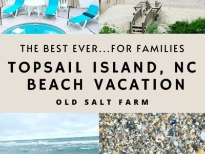Topsail Island NC Beach Vacation for Families