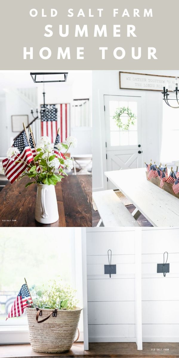 Farmhouse Summer Home Tour