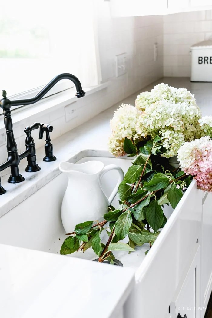 Black Farmhouse Kitchen Faucet