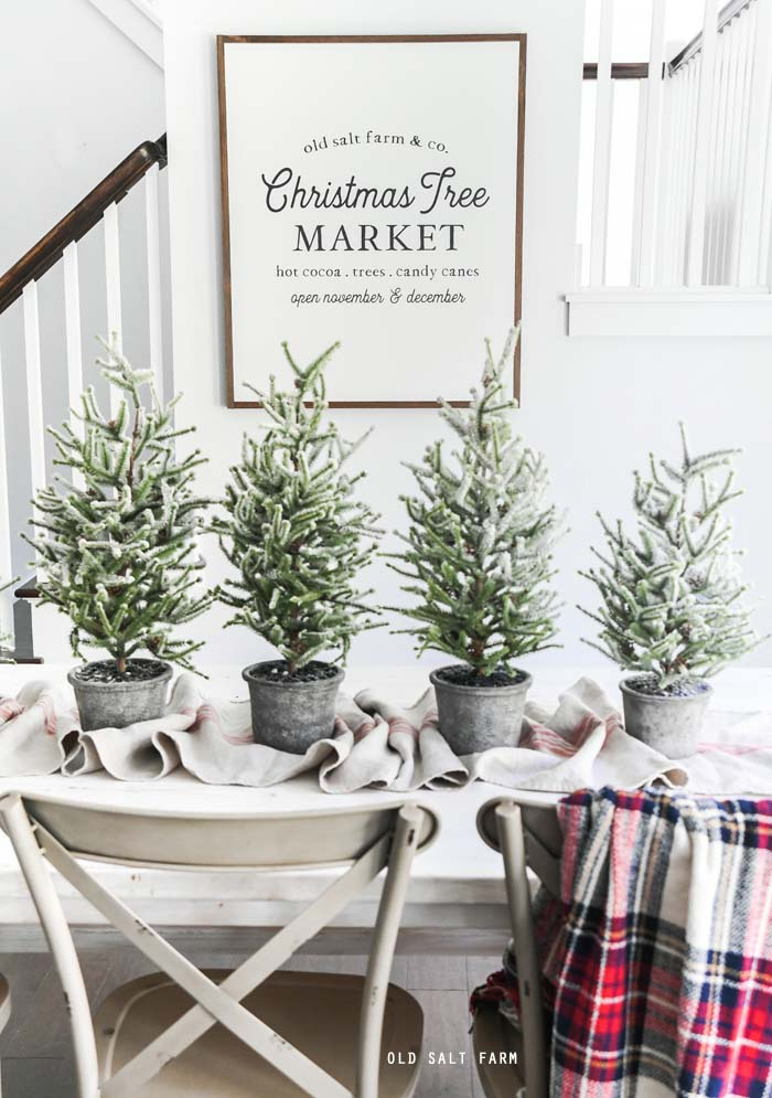 Christmas Tree Market Farmhouse Sign
