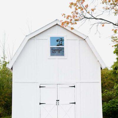 White Barn Upstate New York