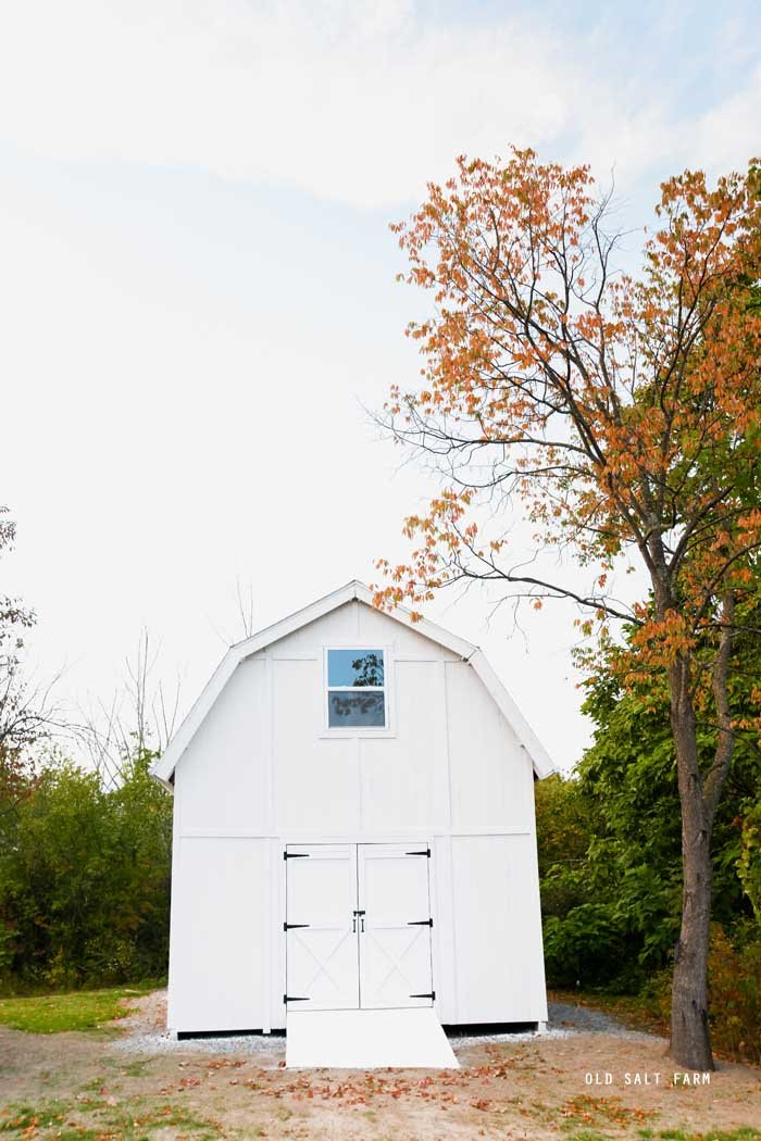 White Barn Upstate New York