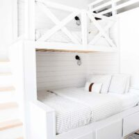 DIY Built-in Bunk Beds